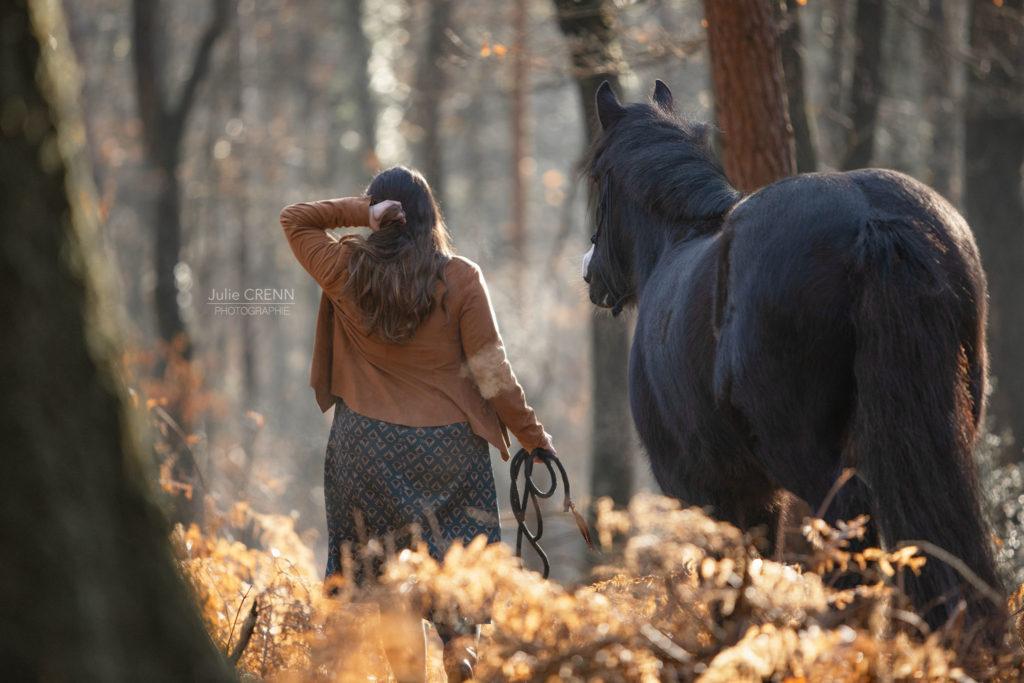 portrait cheval humain